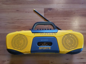 Sony Sport CFS-902 Am FM Water Resistant Cassette Player