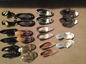 11 pairs of heals all size 6