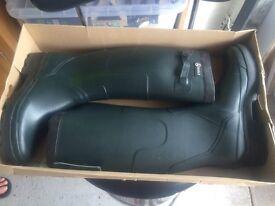 Aigle green Wellington boots
