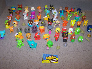 66 THE UGGLYS PET SHOP figurines