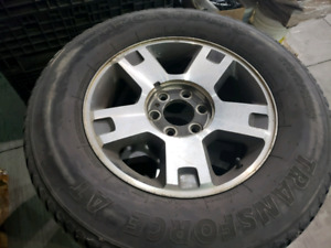 Rim and tires F150