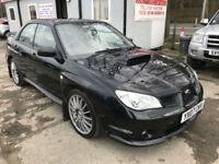 07 REG Subaru Impreza 2.5 WRX IN BLACK