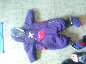 12 month boys snowsuit