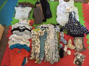 boy clothes lot 0-6m