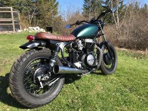 For sale. 1983 Honda cm450 brat style motorcycle