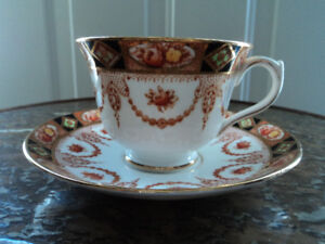 Vintage Bone China Cups & Saucers