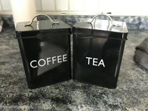 Coffee &Tea Cannisters