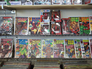 WALKING DEAD AND DEADPOOL COMICS Peterborough Peterborough Area image 5