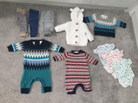 Unisex winter baby bundle