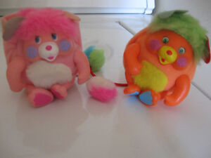 Mini Popples about 3-4 inches. Excellent Condition.