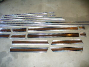 1969-72 CHEV SHORT BOX MOULDINGS