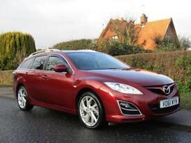 2011 Mazda 6 2.2d [180] Sport 5dr 55,000 * FULL MAZDA SH 5 door Estate