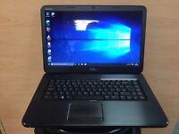 Dell Fast HD Laptop, 320GB, 4GB Ram, HDMI (Kodi) Windows 10, Microsoft office, Good Condition