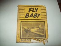 Building plan's for flybaby airplane aircraft