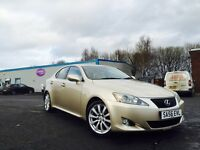 Lexus is 250 ***low mileage**