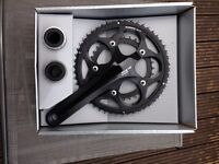 Shimano 105 compact chainset FC5750