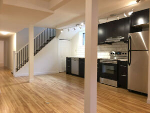 Beautifully Renovated Basement Suite - Rent Includes Utilities