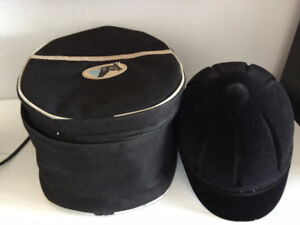 CAPRIOLE RIDING HELMET, WITH CARRY CASE
