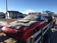 91 rx7 rolling shell with grannies ford v8 kit
