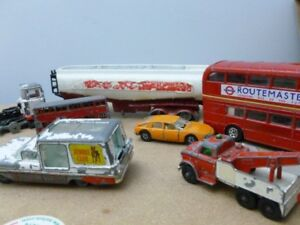 1960's Vintage Dinky Cars Toy Collectors British