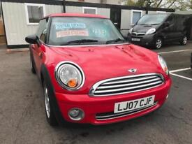 2007 (07) Mini 1.4 One ** New Mot Issued On Purchase **