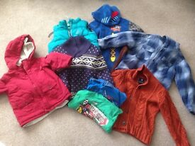 Boys clothing bundles - sizes 0-3 months & 3-4 years winter