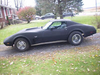 !! 1977 VETTE TRADE FOR OLD HOTROD OR MUSCLECAR