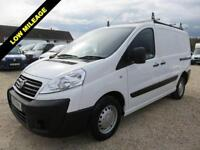 2012 12 FIAT SCUDO 1.6 BUSINESS MULTIJET SWB L1 H1 ONLY 6,945 MILES FROM NEW DIE