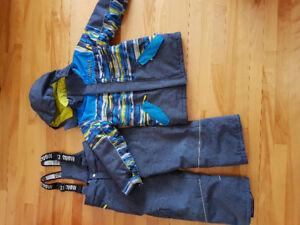 Habit d'hiver garçon 7 ans