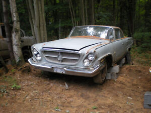 Parting Out 1962 Chrysler New Yorker