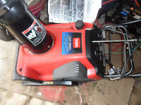 TORO SNOWBLOWER CCR 3650 WITH ELECTRIC STARTER