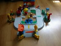 train garre little oeople -fisher price