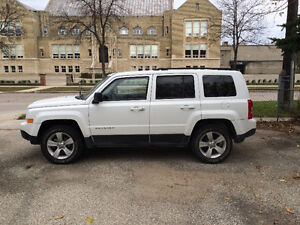 2014 Jeep Patriot White SUV, Crossover