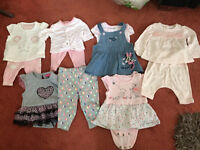 Baby Girl Bundle Clothes - Tiny Baby/First Size/0-3 months