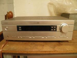 yamaha HTR-5630 natural sound AV receiver , 210 watt, exc cond