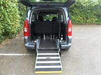 Peugeot Partner 1.6HDi Tepee S WAV Wheelchair Accessible Vehicle 5 Seats