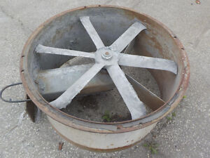 """34 """" Exhaust Fan for a Paint Booth"""