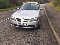 !!TOP SPEC!!Nissan almera sve low miles,2 keys,long mot,sat nav