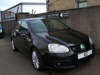 07 07 VOLKSWAGEN GOLF 2.0 GT-TDi TURBO DIESEL 5DR 3D SATNAV BLUETOOTH TV FSH