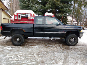 1995 Dodge Power Wagon Black