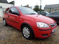 Vauxhall Corsa 1.0I 12V LIFE (red) 2006