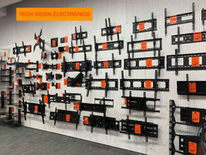 TV WALL MOUNTS, NON TILTING, TILTING, FULL-MOTION, CEILING
