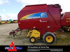 2011 New Holland BR7060 Silage Special Round Baler