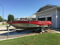 Tracker boat SC175 for sale