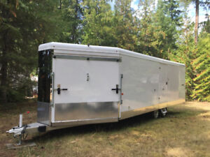 Snowmobile Trailer - Trails West Trailers - $17000