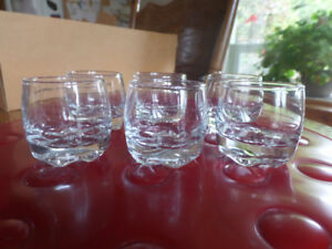 Various glassware and serving dishes, vintage, some new