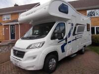 Swift Escape 664 2016 4 Berth Motorhome 4 Travelling Seats with Belts