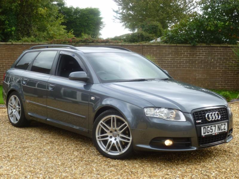 2007 57 audi a4 avant 2 0 tdi 170ps s line special. Black Bedroom Furniture Sets. Home Design Ideas