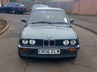 1987 BMW E30 320i auto 12 MONTHS MOT CLASSIC COLLECTORS CAR