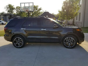 2014 Ford Explorer Sport AWD ECOBOOST 3.5L -  365 HP
